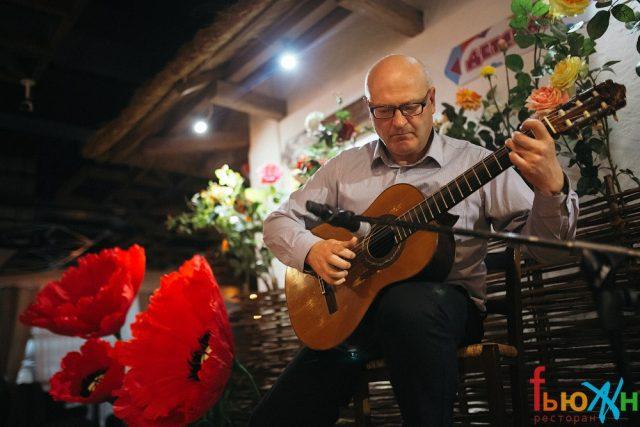 Игра на гитаре Носов Игорь