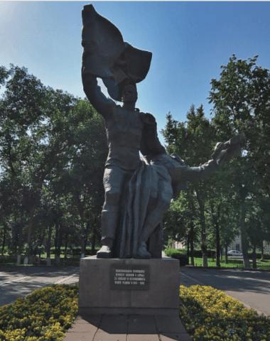 Памятник Комсомольцам орловщины, погибшим в Великой Отечественной войне